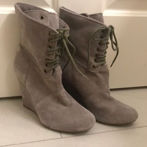 Betsy Johnson Wedged Booties